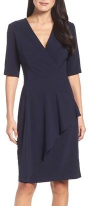 Women's Maggy London Crepe Sheath Dress $138 thestylecure.com