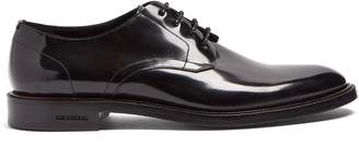 Burberry Alvin high-shine leather derby shoes