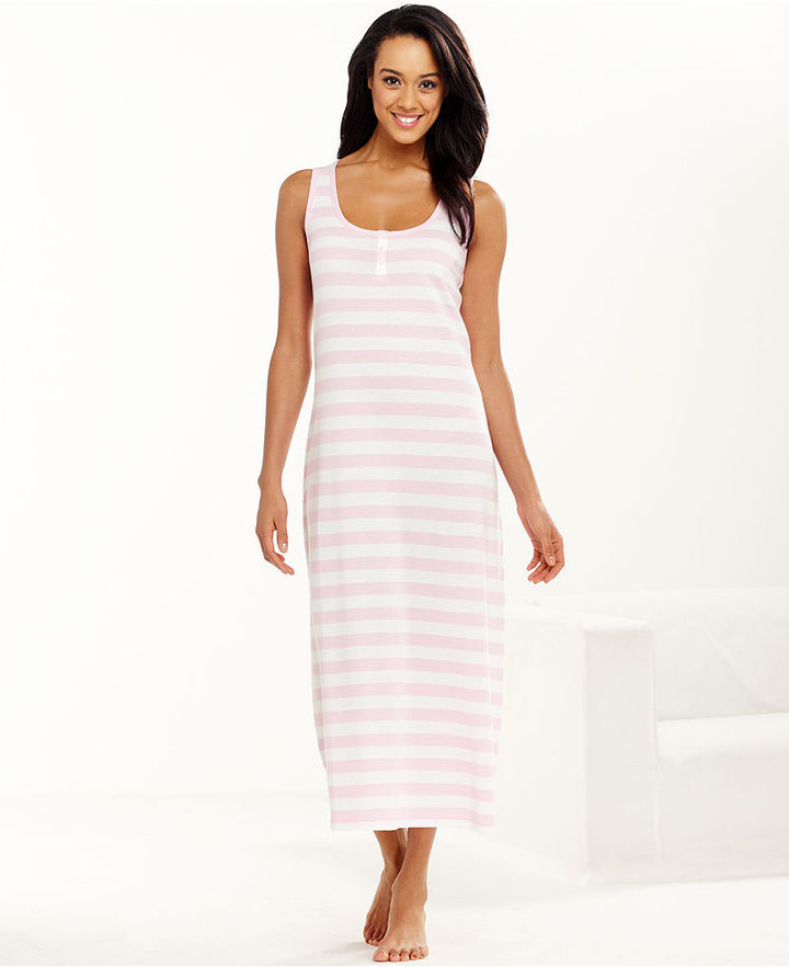 Charter Club Gown, Stripe Maxi Gown