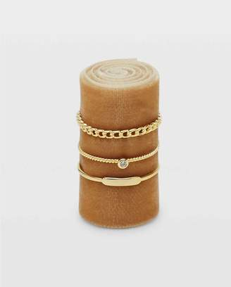 Club Monaco Serefina Link Ring Set