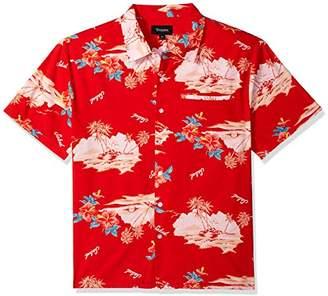 Brixton Men's Bueller Relaxed FIT Short Sleeve Woven Shirt