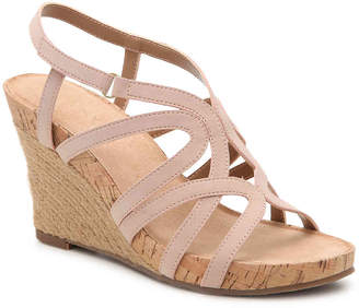 Aerosoles Lux Plush Wedge Sandal - Women's