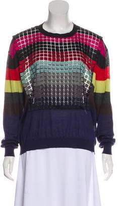 Marco De Vincenzo Cashmere Long Sleeve Sweater