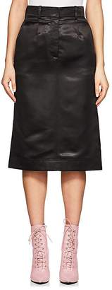 Calvin Klein Women's Satin Pencil Skirt