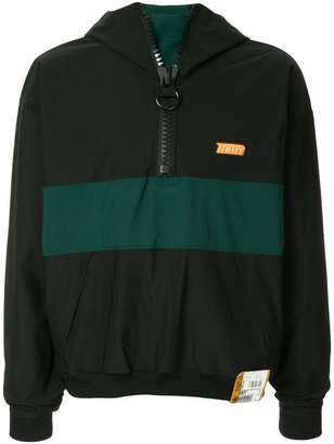 Puma Maison Yasuhiro zipped collar jumper