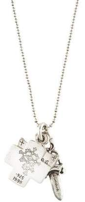 Chrome Hearts Charm Pendant Necklace