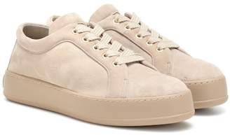 Max Mara Suede sneakers
