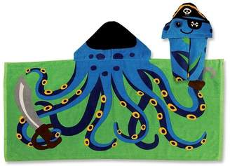 Stephen Joseph Hooded Octopus Pirate Towel