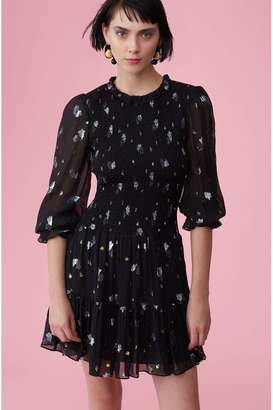 Rebecca Taylor Scattered Tulip Clip Dress