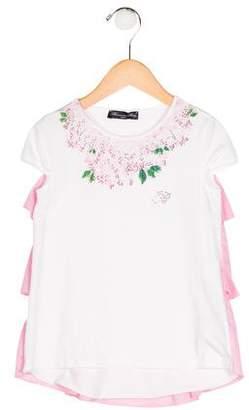 Blumarine Girls' Embellished Shift Dress w/ Tags