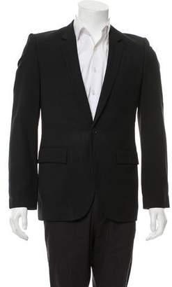 Veronique Branquinho Wool Two-Button Blazer