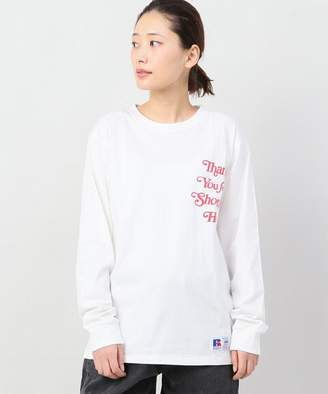 Russell Athletic Joint Works Print Ls Tee