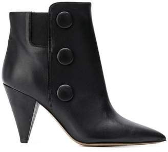 Fabio Rusconi Flower ankle boots