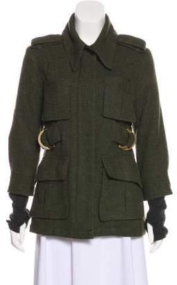 Smythe Wool Collared Jacket