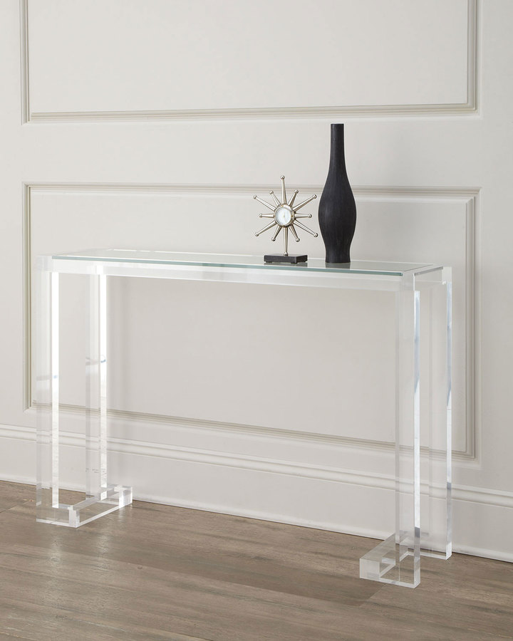 Horchow Clearview Console