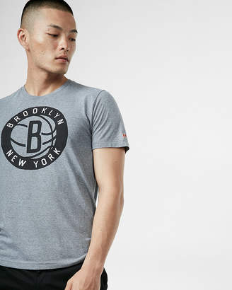 Express Homage Brooklyn Nets Crew Neck Tee