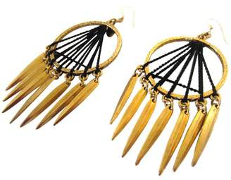 Louise Manna Navajo Sun Earrings