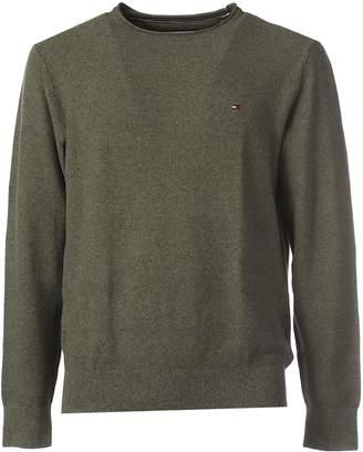 Tommy Hilfiger Beige Cotton Sweater