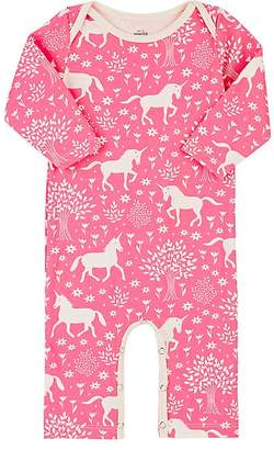 Factory Winter Water Unicorn-Print Cotton Coverall