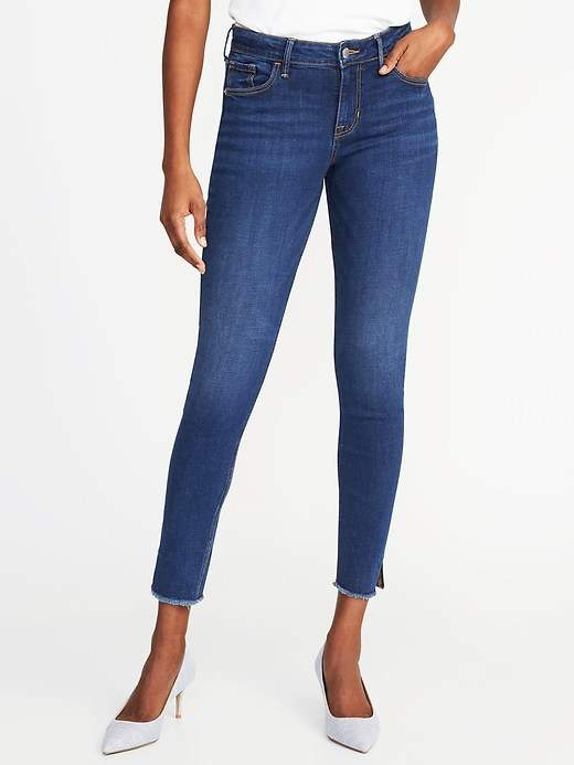 Mid-Rise Rockstar Ankle Jeans for Women