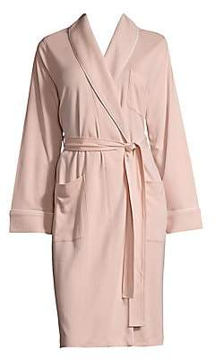 Saks Fifth Avenue Women's COLLECTION Heathered Wrap Cotton Robe