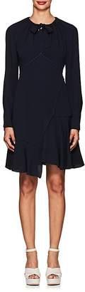 Derek Lam 10 Crosby Women's Crochet-Trimmed Ruffle Dress