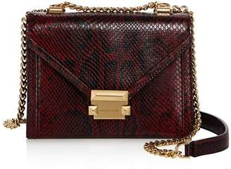 30a88ed91b3a MICHAEL Michael Kors Whitney Small Leather Shoulder Bag - 100% Exclusive