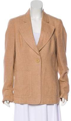Akris Notch-Lapel Long Sleeve Blazer