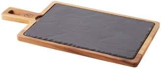 Revol Rectangular Plate & Wood Tray