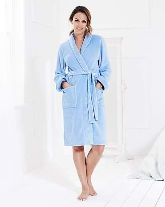 Pretty Secrets Fluffy Fleece Gown