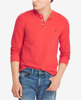 Polo Ralph Lauren Men's Featherweight Cotton Henley Shirt
