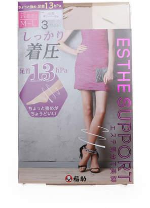 FUKUSKE (フクスケ) - 【福助】 フクスケ 福助 着圧 パンティ ストッキング 3足組 (レディース 婦人 パンスト)