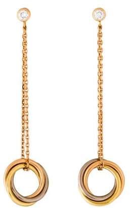 Cartier Diamond Trinity Earrings rose Diamond Trinity Earrings