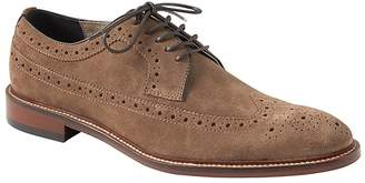 Banana Republic Herne Suede Brogue Oxford