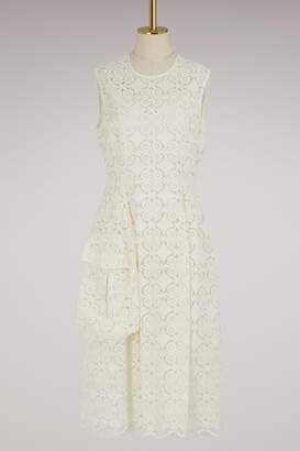 Simone Rocha Pocket Bell Embroidered Dress