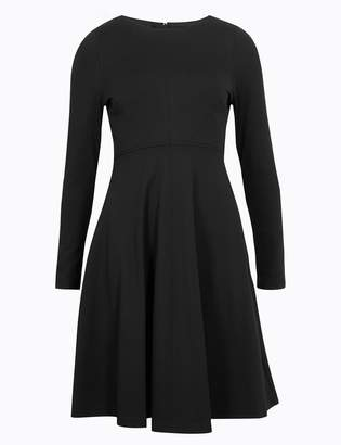 Marks and Spencer PETITE Fit & Flare Midi Dress