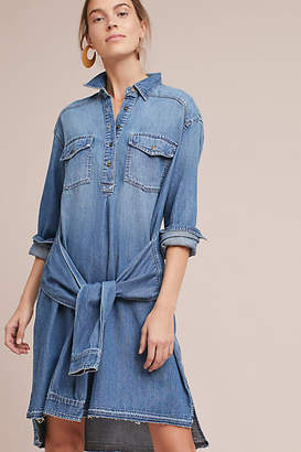 Current/Elliott Current/Elliot Denim Shirtdress