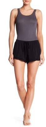 Barefoot Dreams Luxe Milk Jersey Lace Shorts
