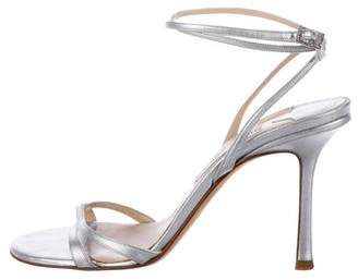 Jimmy Choo Suave Wrap-Around Sandals