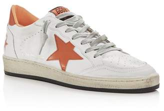 Golden Goose Unisex Ball Star Leather Low-Top Sneakers