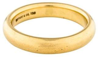 Tiffany & Co. 18K Classic Band Ring