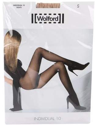 Wolford Individual 10 Tights w/ Tags