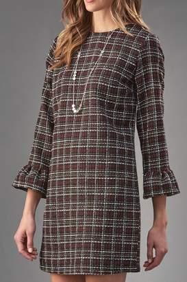 Paige Charlie Tweed Shift Dress