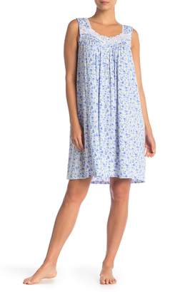 Eileen West Soft Knit Printed Nightgown