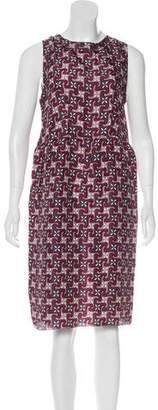 Marni Silk Knee-Length Dress