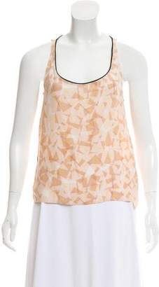 Piamita Printed Silk Top