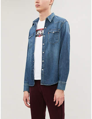 Levi's Barston Western denim shirt