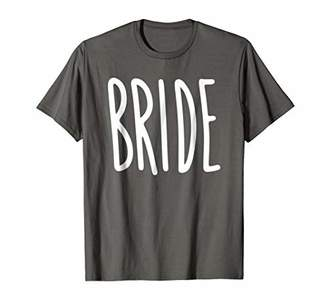 The Bride T-Shirt Women's Wedding Groom