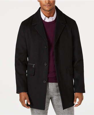 Calvin Klein Men's Wool Cashmere Blend Overcoat