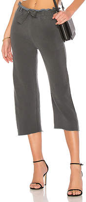 Stateside French Terry Wide Leg Pant